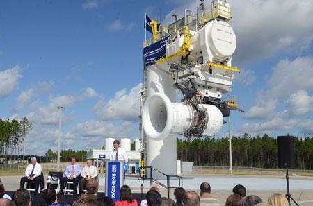 Rolls Royce Breaks Ground On Jet Engine Test Facility